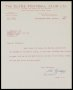 Image of : Letter from The Clyde F.C. to Everton F.C.