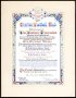 Image of : Scroll from the F.A. to celebrate Everton F.C.'s Centenary