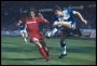 Image of : Photograph - Everton v Liverpool. Gary Lineker and Mark Lawrenson.