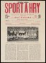 Image of : Newspaper - Sport a Hry. Sport in Bohemia
