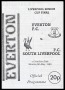 Image of : Programme - Everton Reserves v South Liverpool