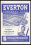 Image of : Programme - Everton v Portsmouth