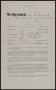 Image of : Player's contract between Everton F.C. and Edward Critchley