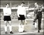 Image of : Photograph - Dixie Dean at the Dixie Dean Testimonial Match with Dennis Stevens and Fred Pickering