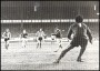 Image of : Photograph - Duncan McKenzie scores Everton's second goal against Stoke. Goalkeeper Peter Shilton