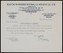 Image of : Letter from Bolton Wanderers F.C. to Everton F.C.