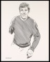 Image of : Caricature - Portrait of Joe Royle