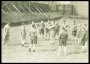 Image of : Photograph - Everton players in training with Harry Cooke, including Bunny Bell, Albert Geldard and T. G. Jones