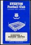 Image of : Programme - Everton v Dundee United