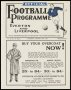 Image of : Programme - Everton Res v Liverpool Res