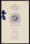Image of : Menu - Everton F.C., Jubilee Dinner, Philharmonic Hall, Liverpool