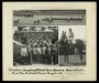 Image of : Photograph - Belmont Park, New York. Schwaben-Augsburg Football Team of Germany and Everton F.C. Also the horse, Supernatural, riden by Bert Morgan