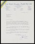Image of : Letter from Leeds United A.F.C. to Everton F.C.