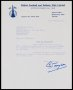 Image of : Letter from Falkirk FAC to Everton F.C.