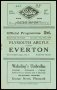 Image of : Programme - Plymouth Argyle v Everton