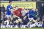 Image of : Photograph - Tony Hibbert, Tim Cahill and Wayne Rooney