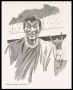 Image of : Caricature - Portrait of Brian Labone