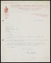 Image of : Letter from Bournemouth & Boscombe Athletic F.C. to Everton F.C.