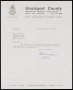 Image of : Letter from Stockport County to Everton F.C.