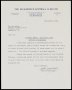 Image of : Letter from The Kilmarnock F.C. to Everton F.C.