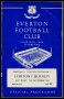 Image of : Programmes - Everton v Burnley and Everton Reserves v Sheffield Wednesday Reserves