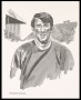 Image of : Caricature - Portrait of Howard Kendall