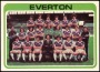 Image of : Trading Card - Everton F.C. team