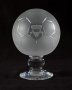 Image of : Glass Football - commemorating Everton F.C.'s first visit to Oxford United