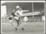 Image of : Photograph - Ray Wilson tackle at away game. Alex Young in background.