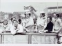 Image of : Photograph - Everton F.C. with the F.A. Cup on a bus