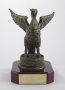 Image of : Presentation gift - Liver Bird presented to Everton F.C., by Lord Mayor Councillors Edward & Pamela Clein