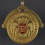 Image of : Medal - Lancashire Football Association, Twenty One Years Service, 1928-1949