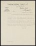 Image of : Letter from W. C. Cuff, Everton F.C. to F. J. Wall, The Football Association