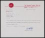 Image of : Letter from Aberdeen F.C. to Everton F.C.