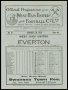 Image of : Programme - West Ham United v Everton