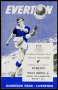 Image of : Programme - Everton v West Bromwich A