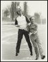 Image of : Photograph - Ron Atkinson and Gordon Lee in action