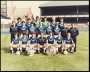 Image of : Photograph - Everton F.C. team with F.A. Cup and Charity Shield