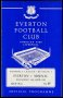 Image of : Programme - Everton v Arsenal