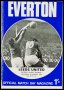 Image of : Programme - Everton v Leeds United
