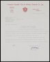 Image of : Letter from Liverpool F.C. to Everton F.C.