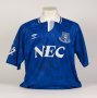Image of : Home Shirt - worn by Peter Beardsley, c.1991-1993