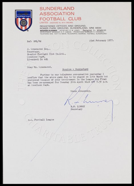 referral letters letter with other club the everton collection 24258