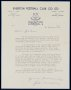 Image of : Letter from Sir John Moores C.B.E., Everton F.C.