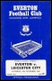 Image of : Programme - Everton v Leicester City