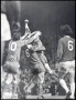 Image of : Photograph - Brian Hall and Emlyn Hughes, John Toshak of Liverpool, and Colin Harvey of Everton