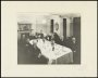 Image of : Photograph - Everton F.C. Directors at dinner. Includes W. C. Cuff, E. Green, C. S. Baxter, G. Evans, John Sharp and W. C. Gibbins
