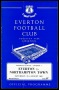 Image of : Programme - Everton v Northampton