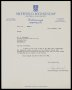 Image of : Letter from Sheffield Wednesday F.C. to Everton F.C.