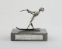 Image of : Marbella Trophy. Water skiing woman.